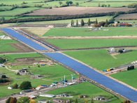 Westcott Solar Park at 1.2MWp would not qualify as 'utility-scale', despite being one of the longest in Europe