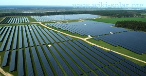 Solar park at Reckahn in Germany, where SMA inverters are used