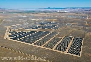 California Valley Solar Ranch (courtesy SunPower Corporation)