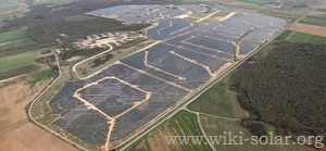 The Toul-Rosières solar park in France, one of a portfolio of projects for which HSH Nordbank has provided finance